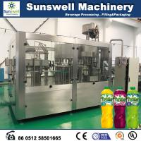Rotary Multi-Head Hot Filling Machine , Tea And Juice Filling Line Manufactures