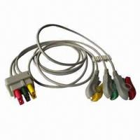 Buy cheap ASP Medical Wires with TPU Cable, Clip Type, IEC Color Code and RoHS Certification from wholesalers