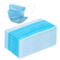 Wholesale Blue Disposable Civilian Masks Stereo Cutting Workmanship For Comfortable Wear from china suppliers