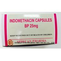 Buy cheap Indomethacin 25 Mg Capsule Finished Medicine , Rheumatoid Arthritis Treatment Pain Killer Medicine from wholesalers