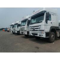 Buy cheap Sinotruck Howo 336 371 420 hp Tractor Head 6X4 6x2 10 Wheel Truck,White color from wholesalers