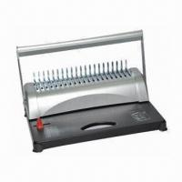Buy cheap Comb Binding Machine with 21 Disengageable Punch and 20 Sheets, OEM and ODM product