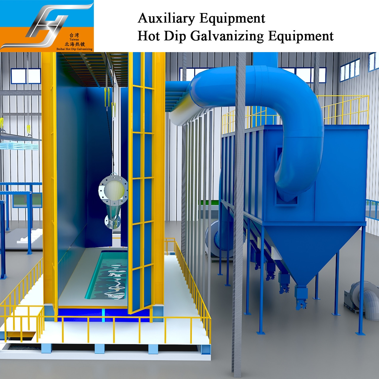Buy cheap Hot Dip Galvanizing Production Line Environmental Protection Equipment Furnace Burner Zinc Kettle Pot Tank Supplier from wholesalers