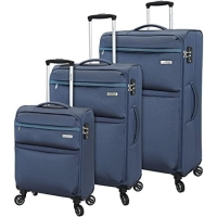 Buy cheap Spinner Goodyear Wheels Soft Luggage Set Built In TSA Lock from wholesalers