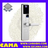Buy cheap CAMA-A010 Digital smart fingerprint door lock with RFID card and keypad from wholesalers