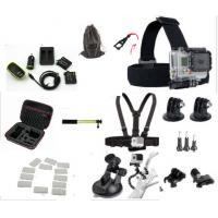 Buy cheap Sport Camera Kit GoPro HERO 4 Accessories Carrying Case , Battery All In One Bundle from wholesalers