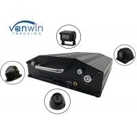 Buy cheap RS232 720P 4G 4 Channel Mobile DVR Onboard Cameras Inputs Bus Router With Hard Drive from wholesalers