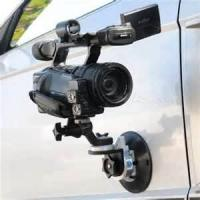 Buy cheap 1 / 4'' screw head Universal car  mount for digital cctv cameras system suction cup from wholesalers