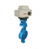 Buy cheap Three Offset Hard Seal Electric Actuated Butterfly Valve from wholesalers