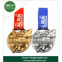 Quality Custom High Quality Lanyard Metal Medal for Sport ,High Quality Enamel Metal Running Medal with Transfer Printed for sale
