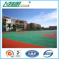 Buy cheap Anti - Slip Sport Court Flooring Rubber Floor Equipment Paint For Indoor Badminton Court Playground from wholesalers