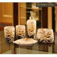 Buy cheap L-D high-end luxurious ceramic bathroom accessories(Housewarming gift) ID:#WY-002 from wholesalers
