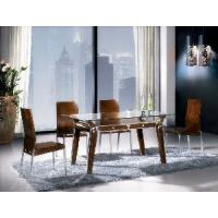 Buy cheap Wood and Metal Dining Room Set (CT-8059&CY-18) from wholesalers