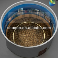 Quality The 6-DOF Platform Simulates A Hot Air Balloon Flying Over The City Dome Screen Cinema for sale