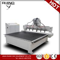 Buy cheap Multi Spindles 1325 CNC Router Machine For Solid Wood / Acrylic Engraving product