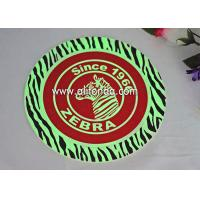 Buy cheap With night light coaster custom creative luminous pvc silicone coasters custom for bar wedding ceremony coffee shop from wholesalers
