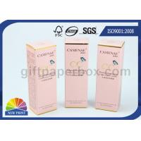 Buy cheap Pantone Color Printing Gold Foil Stamping Paper Packaging Box for Cosmetics Products from wholesalers