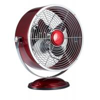 Buy cheap Clock Style 9 Retro Metal Desk Fan with 2 Speed Settings for Home & Office from wholesalers