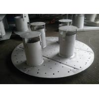 Buy cheap Pan / Plate Type Column Internals Customized Size For Basic Chemical Column from wholesalers