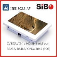 Buy cheap SIBO Q896 Android Tablet With POE And Inwall Flush Mount Box from wholesalers