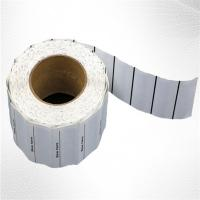 Buy cheap White Woven Clothing Sew EAS Hard Tag ,  58KHz AM Label Roll from wholesalers