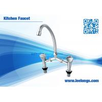 Buy cheap Deck Mounted Handle Basin Faucet  ,Two Handle Kitchen Faucet from wholesalers