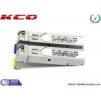 Buy cheap 1.25G SFP Fiber Optic Transceiver 1310nm 10km Cisco LC Connector Port from wholesalers