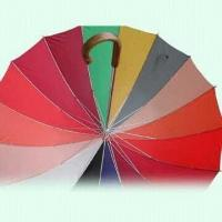 Buy cheap 16-rib Golf Umbrella, Made of 170T Polyester Fabric product