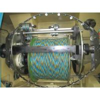 Double Twist Buncher Bare Copper Wire Twister Machine With Computer Control Manufactures
