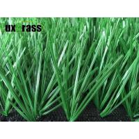 Buy cheap Football Synthetic Sports Turf 11000 Dtex PE Yarn Green Sports Artificial Grass from wholesalers