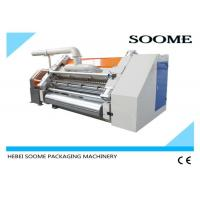 Buy cheap Single Ply Corrugated Cardboard Production Line Electric Control High Effieciency 380V 50Hz from wholesalers