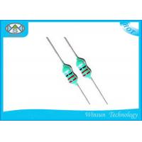 Compact Design Color Ring Inductance , LGA 0204 Color Code Choke Coil Inductor