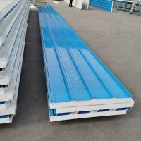 Buy cheap Precast Insulated Sandwich Panel / Polyurethane Cold Room Panels Ceiling from wholesalers