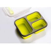 Buy cheap Collapsible , Microwavable, Leak Proof, Silicone Lunch Container from wholesalers