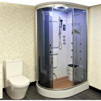 Buy cheap Curved Moulded Steam Shower Cubicle from wholesalers
