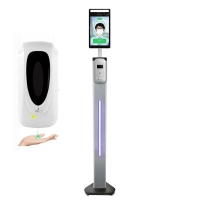 Buy cheap Stand Type With Soap Dispenser Bispectral Face Recognition System from wholesalers
