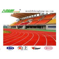 Anti-UV Stadium School Prefabricated Recycled Rubber Flooring For 400 Meter Standard Manufactures
