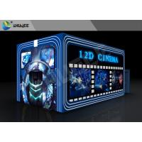 Wholesale Entertainment Virtual 12D Cinema XD Theatre Cabin With 3DOF Eletric Chairs from china suppliers