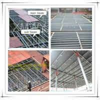Buy cheap Q235 Steel concrete slab formwork scaffolding system replace wood formwork beams from wholesalers