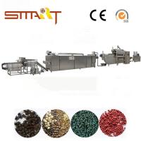 Buy cheap 120-150kg / Hr Pet Food Extruder Machine Electric Power Automatic Fish Feed Machine from wholesalers