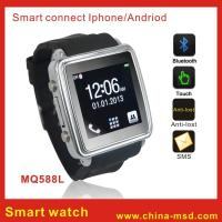 Buy cheap GSM Smartphone Bluetooth Watch with Caller ID Display for Android and Iphone from wholesalers