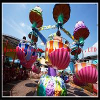 Buy cheap european standard Fairgound jellyfish outdoor park amusement swing ride from wholesalers