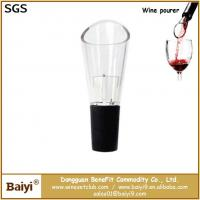 Buy cheap Portable red wine pourer,wine bottle pourer from wholesalers