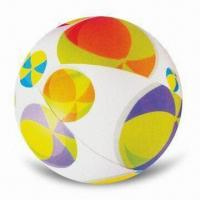 Wholesale Beach Ball with Transparent Color, OEM Orders are Accepted, Customized Colors are Welcome from china suppliers