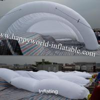 Buy cheap inflatable tent vancen , inflatable tunnel tent , inflatable outdoor tent , air tent from wholesalers