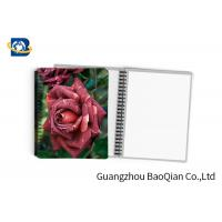 Wholesale 0.6mm PET Material Personalized Spiral Notebooks  3D Lenticular Stationery from china suppliers