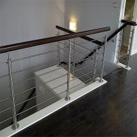 Buy cheap Decorative wrought iron railings with solid rod bar design from wholesalers