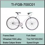 Buy cheap 700C Steel Fixed Gear Bike from wholesalers