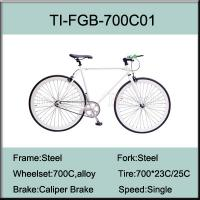 Wholesale 700C Steel Fixed Gear Bike from china suppliers
