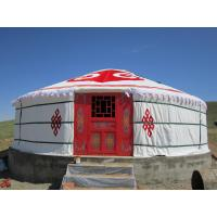 Buy cheap 30 Square Meters Luxury Traditional Mongolian Yurt With High Frequency Welding from wholesalers